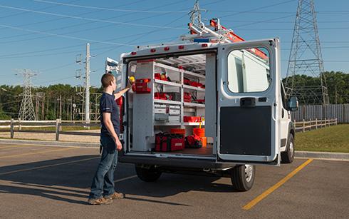 Weatherguard van solutions bird ladder - Commercial van interiors locations ...