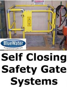 image of self closing gate system