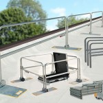 roof guard rail;