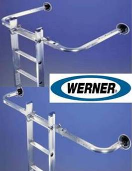 Werner 97P Adjustable Ladder Standoff Stabilizer