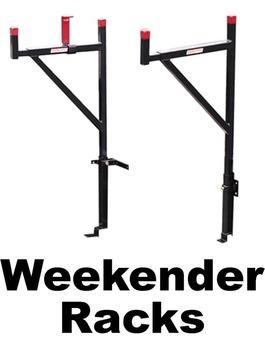 Steel Weekender Pick Up Truck Racks Bird Ladder