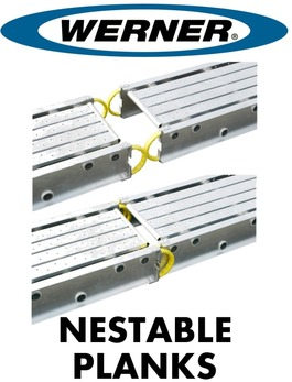 Nestable - Aluminum Planks / Stages