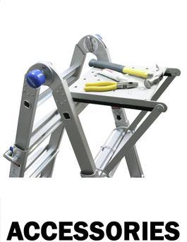 Telescoping Ladder Accessories Bird Ladder