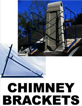 Chimney Roof Scaffold Brackets