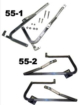 u2022WERNER 55-1 will fit on all Werner attic ladders MADE BEFORE 2006.  sc 1 st  Bird Ladder & Hinge Arm Kit | Bird Ladder