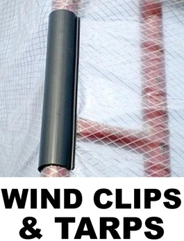 Wind Clips, Reinforced Tarps, & Canopy Tops