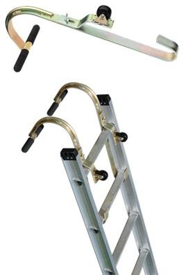 Roof Hook w/ Wheel - Roof Zone | Bird Ladder